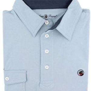 Southern Proper Men's S Polo Shirt Light Blue S3